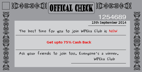 BUY-AND-COMMENT Group Deal by WPEka Club. Upto 75% Off